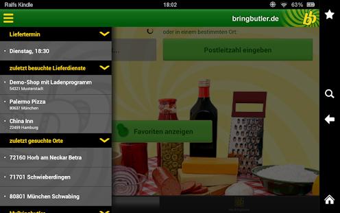 Bringbutler - Pizza, Pasta, .. - screenshot thumbnail