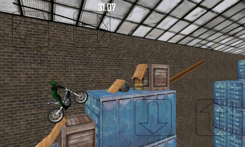 GnarBike Trials- screenshot