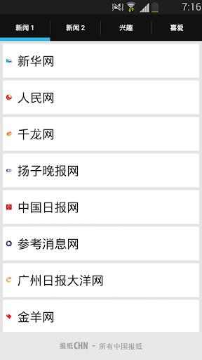 报纸CHN-中国所有报纸