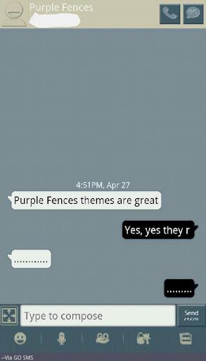 個人化必備APP下載 Blue Gray Tan Go SMS Theme 好玩app不花錢 綠色工廠好玩App