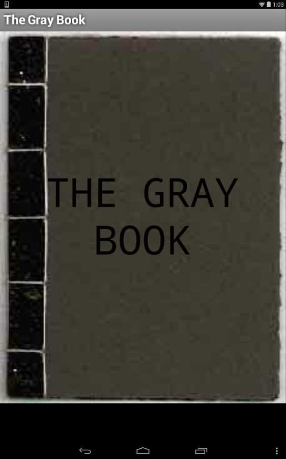 What Color Is The Gray Book In