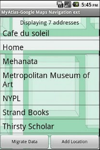 A Google Maps Nav Book Pro - screenshot thumbnail