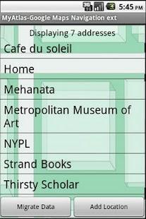 A Google Maps Nav Book Pro - screenshot thumbnail