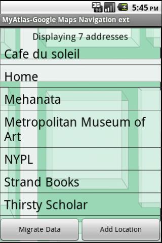 A Google Maps Nav Book Pro - screenshot