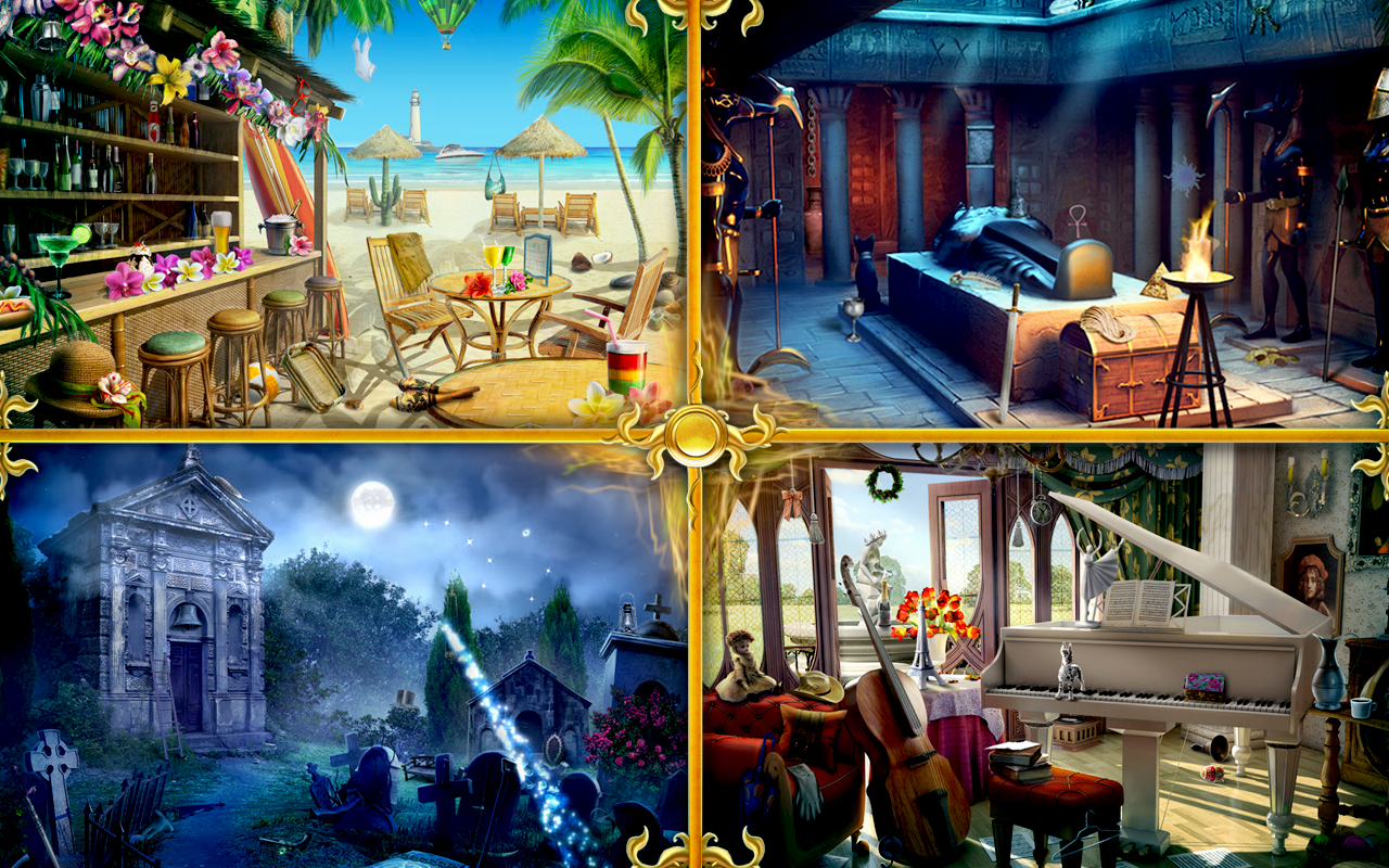 Hidden Object Games - New Free Unlimited Games Online