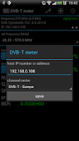 Screenshot of DVB-T meter