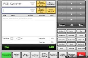 Screenshot of Cash Register
