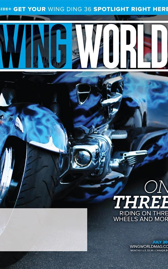 Wing World Magazine- screenshot