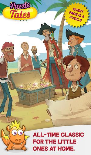Treasure Island Jigsaw Tale