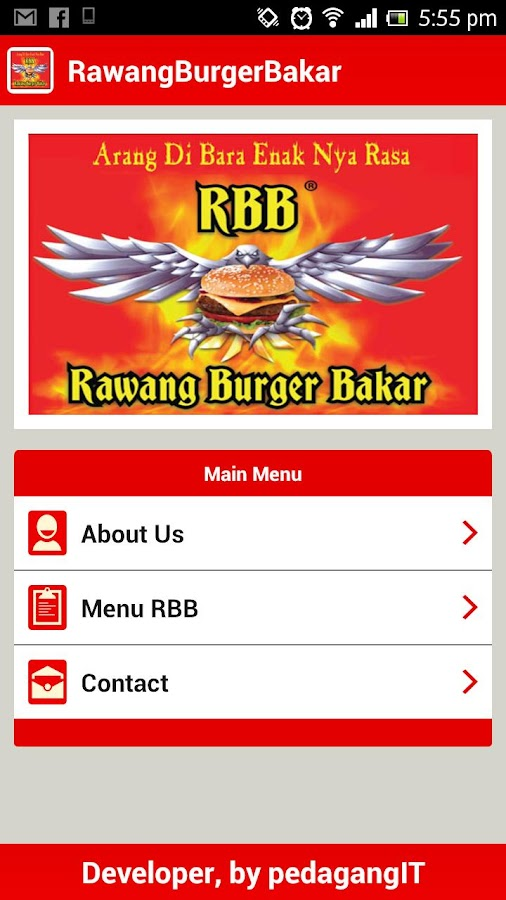 Rawang Burger Bakar - screenshot