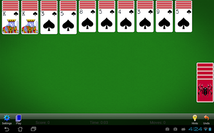 Spider Solitaire Screenshot 16