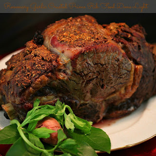 Rosemary Garlic Crusted Prime Rib