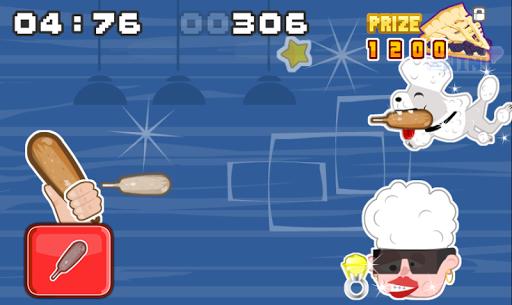 Corn Dog Dog Throwing game