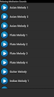 Screenshot of Relaxing Meditation Sounds