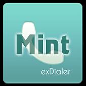 exDialer Theme - SSB Mint