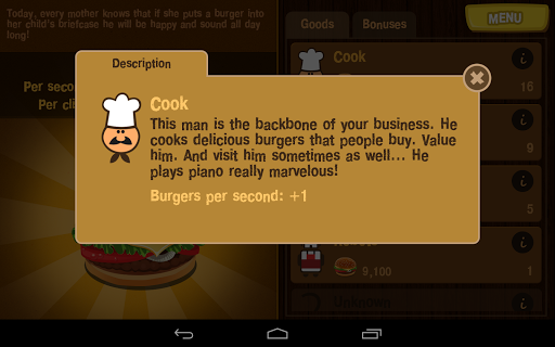 Burger Clicker 1.1.2 screenshots 11