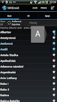 Screenshot of MHDroid Public Transport