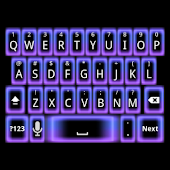 Night Glow Keyboard Skin