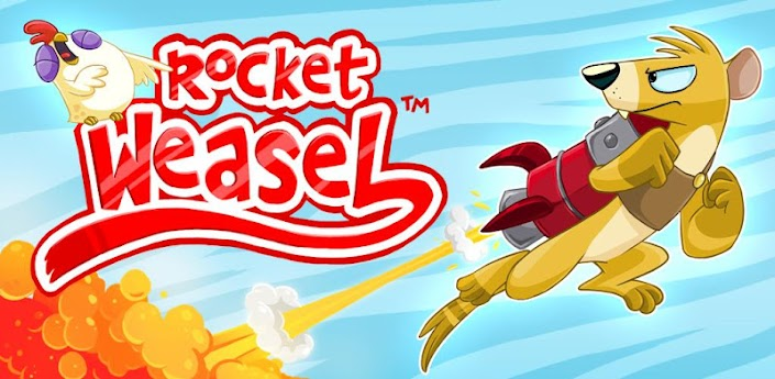 Rocket Weasel - веселая аркада для Андроид