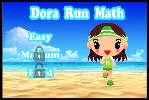Dora Run Math