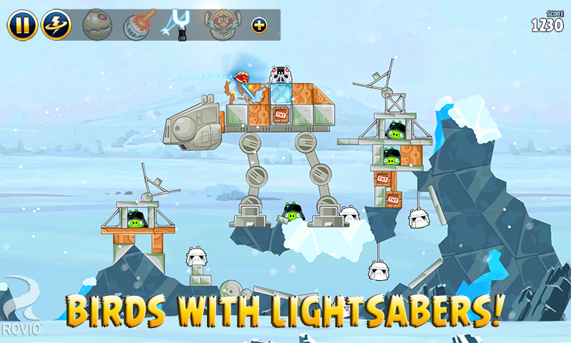 Angry Birds Star Wars screenshot #2