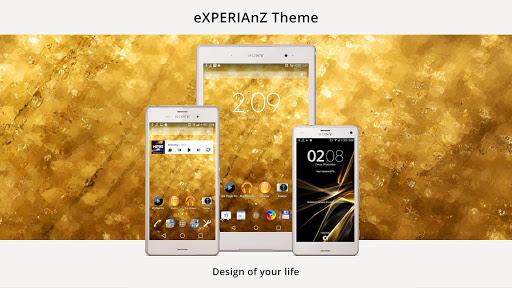 Theme eXPERIAnZ - Premium Gold