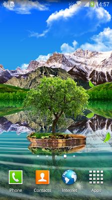 Landscape Live Wallpaper Lite - screenshot
