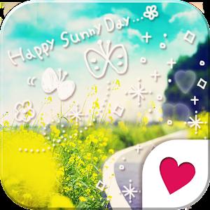 可愛換裝桌布★Happy sunny day 個人化 App LOGO-硬是要APP