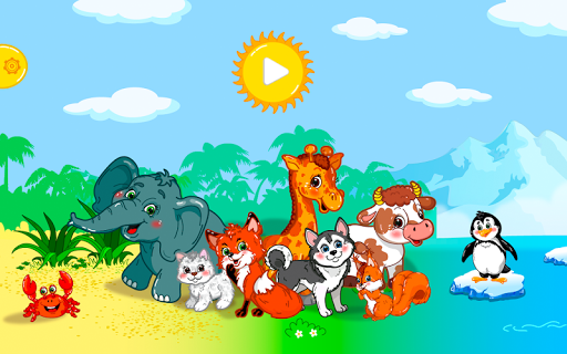Animal puzzles for toddlers 1+