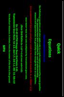 Screenshot of Quick  Equations
