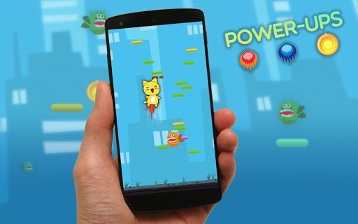 玩免費休閒APP 下載猫のジャンプ楽しいゲーム無料 app不用錢 硬是要APP
