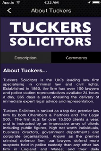 Tuckers Criminal Solicitors