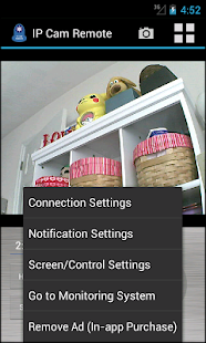IP Cam Remote with Audio- screenshot thumbnail