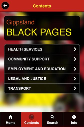 Gippsland Black Pages