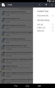 Oracle WebCenter Content - screenshot thumbnail