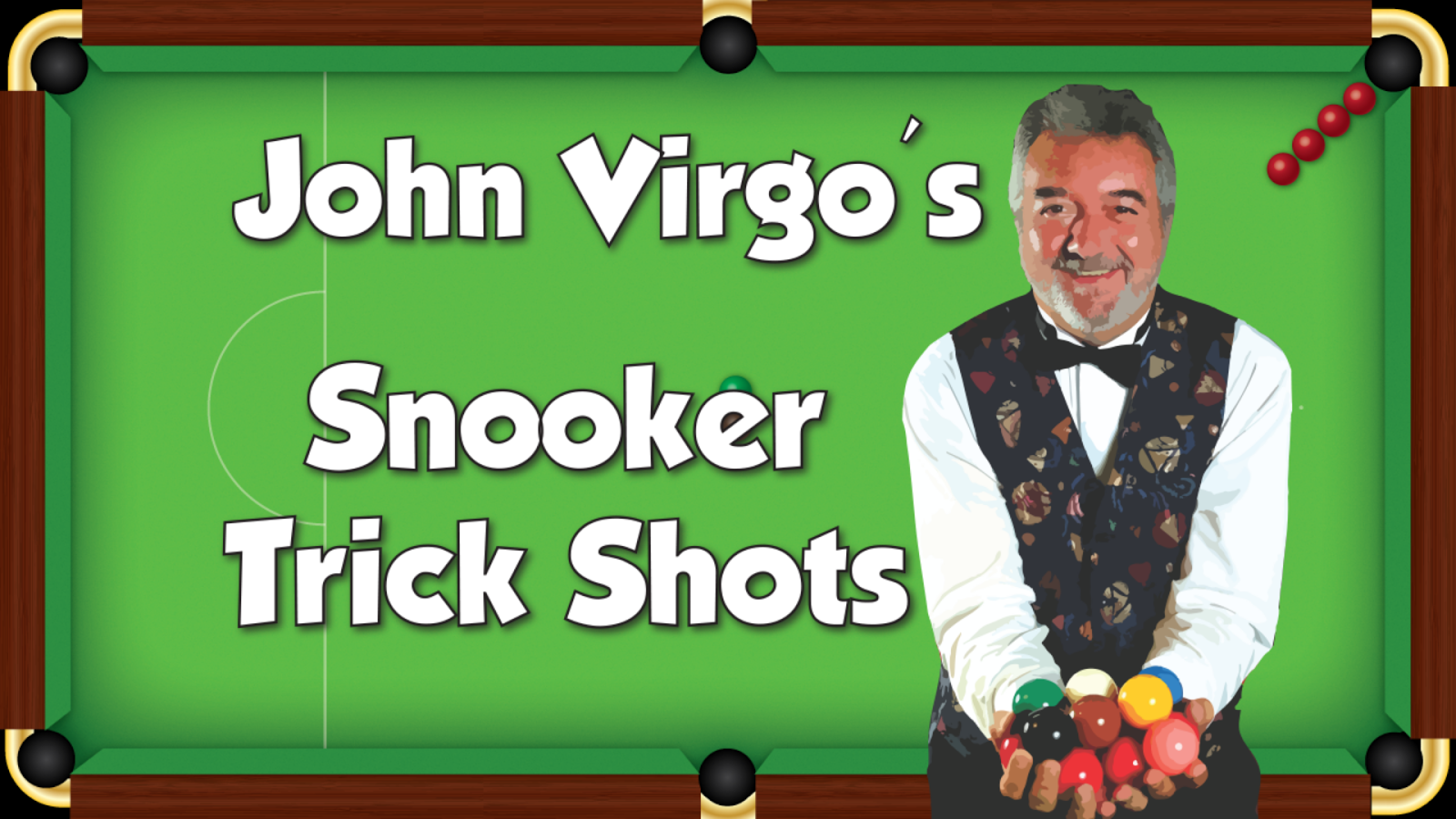 John Virgo Snooker Trick Shots- screenshot