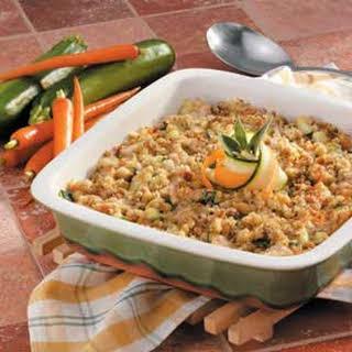 Chicken Zucchini Casserole.