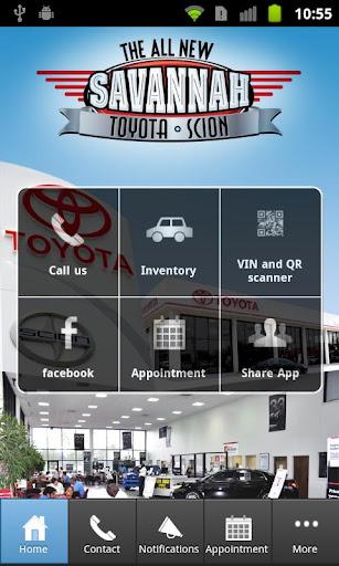 【免費商業App】Savannah Toyota and Scion-APP點子