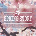Spring story Atom Theme icon
