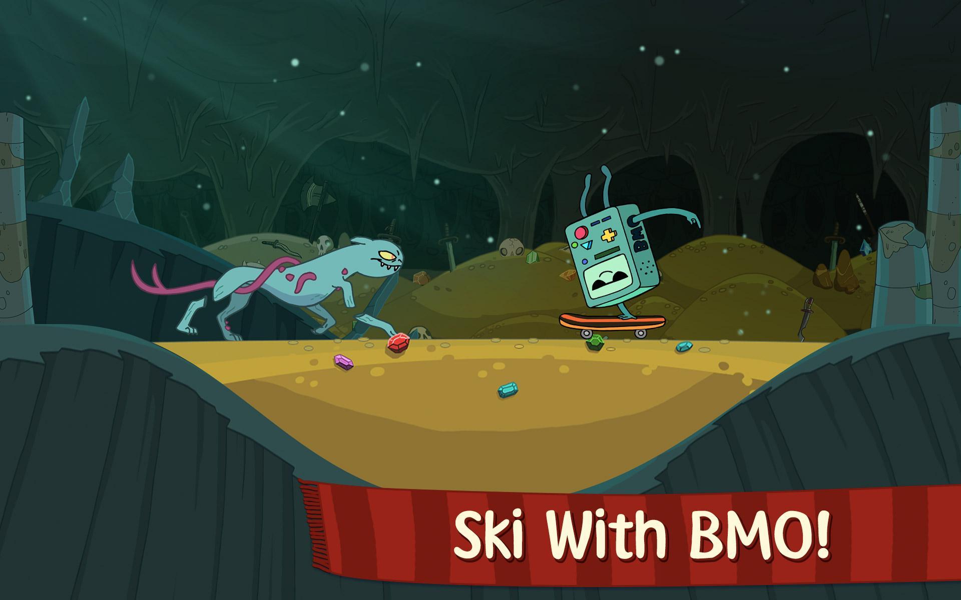 Ski Safari: Adventure Time screenshot #7