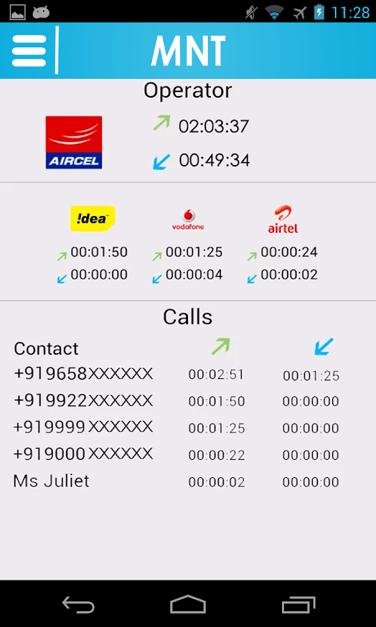 Mobile Number Tracker - screenshot
