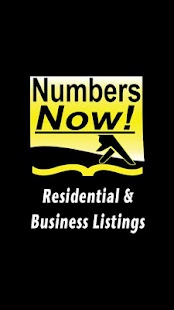 Numbers Now! Yellow Pages- screenshot thumbnail