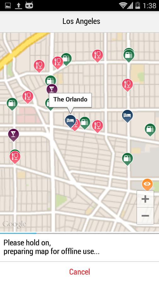 Los Angeles City Guide- screenshot