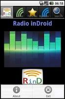 Screenshot of Radio inDroid