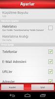 Screenshot of Avea Yedek