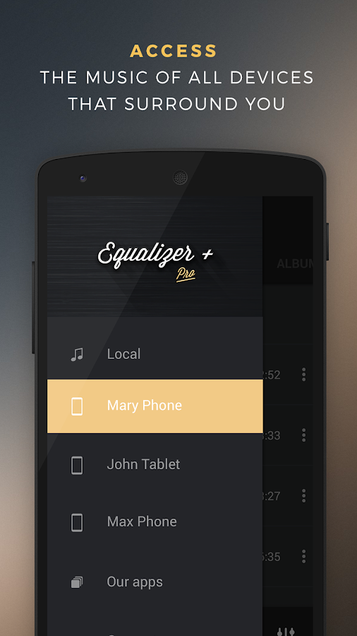 Equalizer + Pro (Music Player)- screenshot
