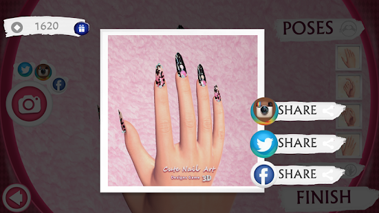 Cute Nail Art Designs Game 3D - screenshot thumbnail