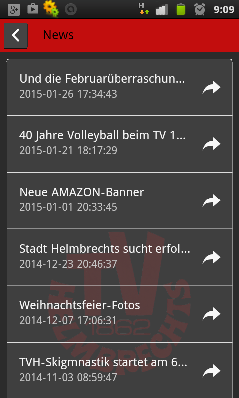 TV 1862 Helmbrechts App- screenshot