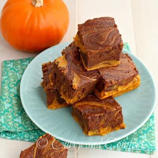 Nutella and Pumpkin Cheese Cake Swirl Bars Recipe