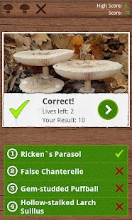 Mushrooms PRO - NATURE MOBILE - screenshot thumbnail
